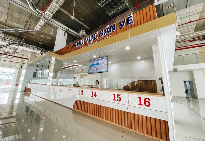 Cận cảnh bến xe Miền Đông mới 4.000 tỷ đồng, xịn nhất Việt Nam trước ngày hoạt động - Ảnh 4.