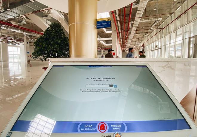 Cận cảnh bến xe Miền Đông mới 4.000 tỷ đồng, xịn nhất Việt Nam trước ngày hoạt động - Ảnh 6.