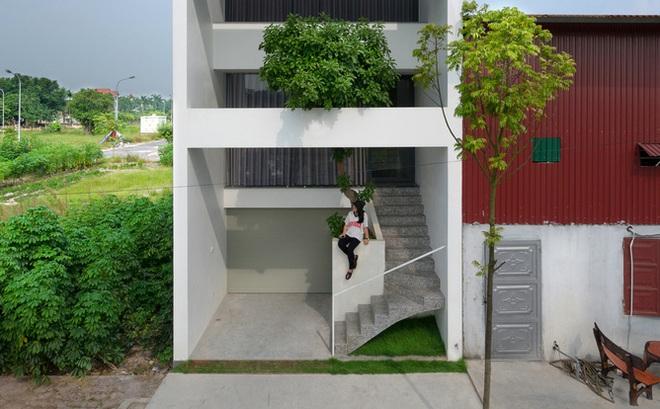 Có gì trong ngôi nhà nằm ở khu đất nhỏ hẹp, ồn ào và khói bụi tại Bắc Ninh vừa lên báo Mỹ?