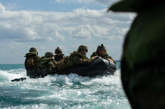 Báo Đài Loan lộ tin Lực lượng Lính thủy đánh bộ Mỹ tới Đài Loan giúp huấn luyện quân đội - Ảnh 1.