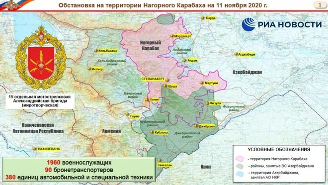 NÓNG: QĐ Nga hé lộ kế hoạch triển khai hùng hậu ở Karabakh - 16 căn cứ và vai trò của Thổ? - Ảnh 3.