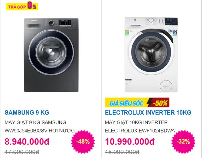 Máy giặt 10kg giảm còn 5 triệu đồng ngày nhân Lễ độc thân 11/11, làm sao không bị mua hớ? - Ảnh 2.