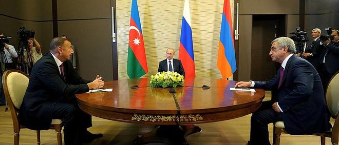 Chiến sự Armenia-Azerbaijan: Tuân lệnh TT Putin, QĐ Nga dàn trận, lập đầu não chỉ huy chiến trường - Hệ thống tác chiến điện tử xung trận - Ảnh 1.