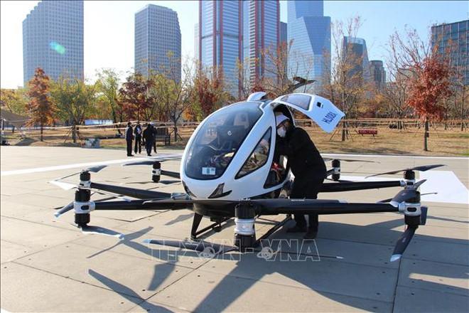 Hàn Quốc lần đầu tiên thử nghiệm taxi bay tại Seoul - Ảnh 1.