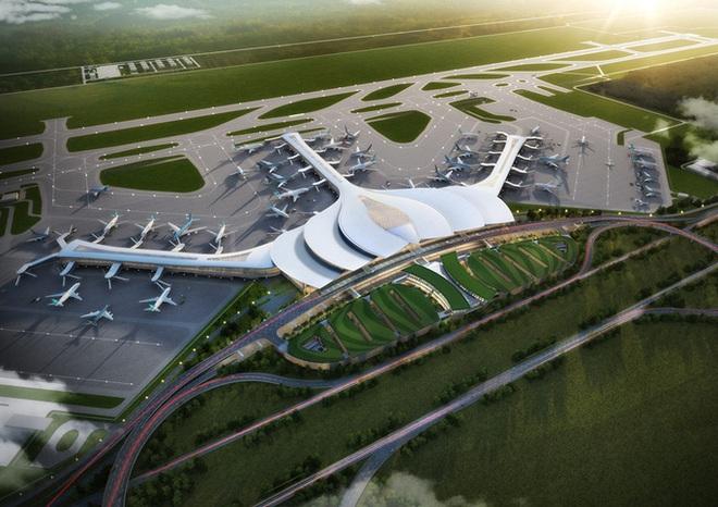 Chính phủ phê duyệt Dự án sân bay Long Thành giai đoạn 1 vốn đầu tư 109.000 tỉ đồng - Ảnh 1.