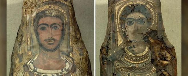 Máy quét CT phát hiện sự thật rùng rợn bên trong bức tượng dát vàng - Ảnh 1.
