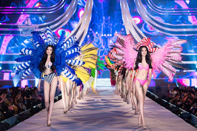 Cận cảnh màn diễn bikini bốc lửa của các thí sinh đẹp nhất Hoa hậu VN - Ảnh 9.