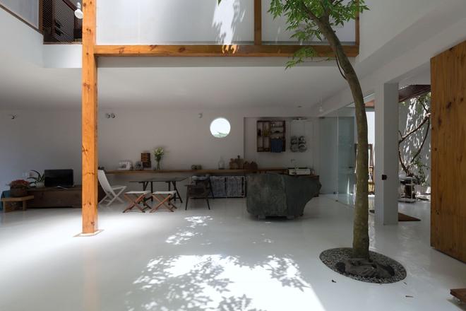 Huế: Căn nhà mới hoàn thiện 1/2, tận dụng gỗ thừa, vật liệu cũ bất ngờ được lên báo Mỹ - Ảnh 6.
