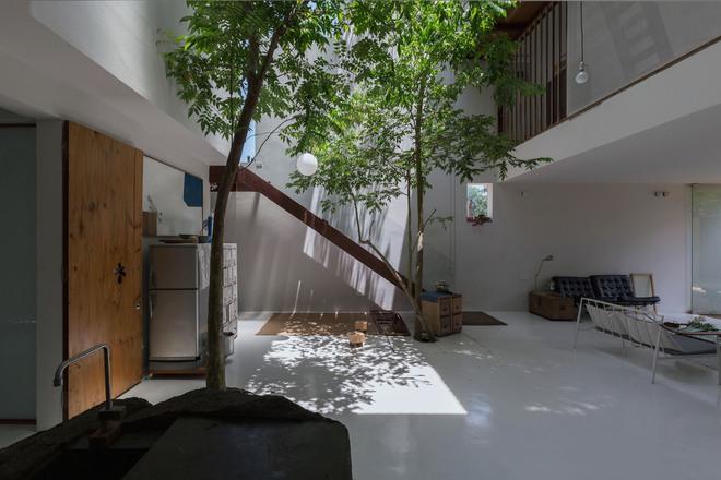 Huế: Căn nhà mới hoàn thiện 1/2, tận dụng gỗ thừa, vật liệu cũ bất ngờ được lên báo Mỹ - Ảnh 3.