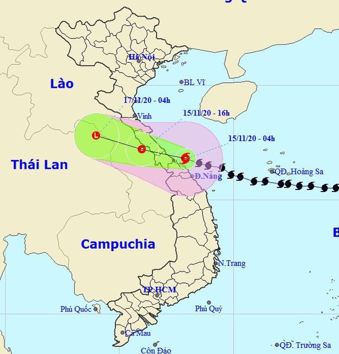 Bão số 13 giật cấp 12 đổ bộ vào Quảng Bình - Thừa Thiên Huế, nguy cơ xảy ra sạt lở đất - Ảnh 1.