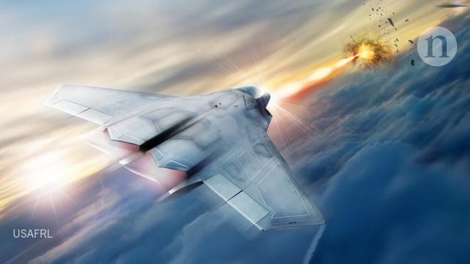 """Vũ khí laser – """"sát thủ vô hình"""" đáng sợ của không quân Mỹ - Ảnh 2."""