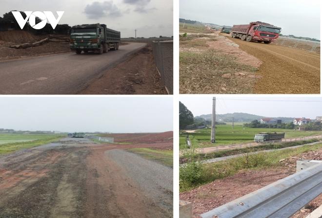 """""""Bất lực"""" nhìn đường gom 60 tỷ cao tốc Bắc Giang - Lạng Sơn bị """"cày"""" nát - Ảnh 6."""