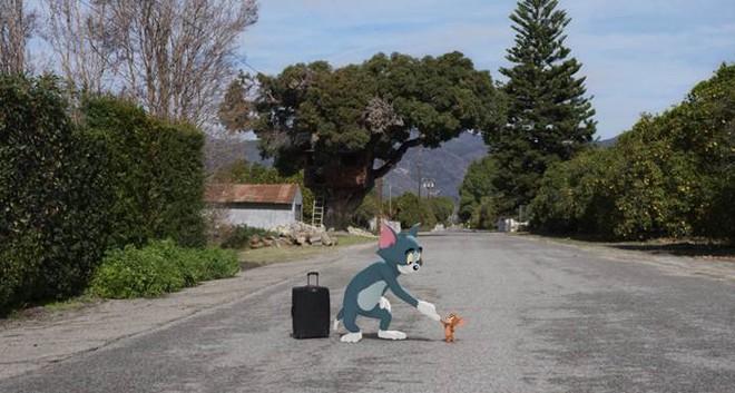 Hé lộ phim điện ảnh đầu tiên về cặp đôi hoạt hình huyền thoại Tom và Jerry  - Ảnh 4.