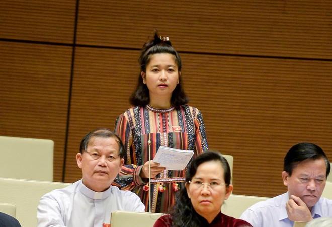 Những phát ngôn, chất vấn của ĐBQH Ksor HBơ Khăp, Lưu Bình Nhưỡng làm nóng nghị trường - Ảnh 1.
