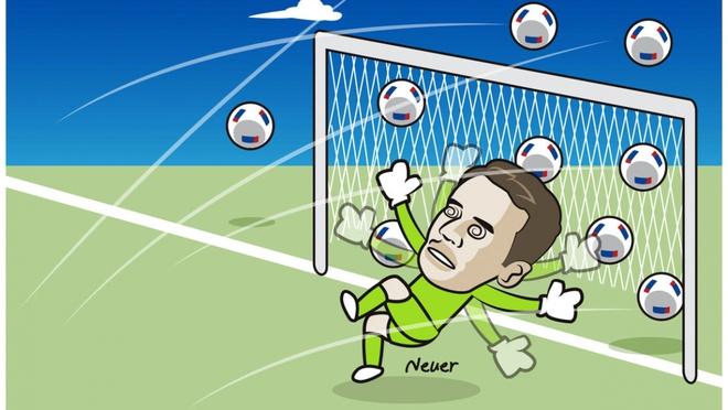 Biếm họa 24h: Neuer lần đầu thủng lưới 6 bàn một trận - Ảnh 3.