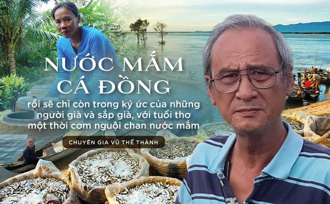 Chuyên gia Vũ Thế Thành: Nước mắm cá đồng - thứ nước mắm một thời mở cõi phương Nam rồi sẽ chỉ còn trong ký ức...
