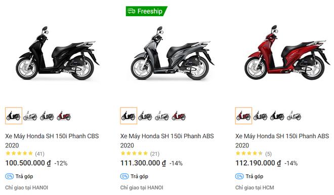 Vì sao có hiện tượng Honda SH ồ ạt bán rẻ hơn cả chục triệu đồng? - Ảnh 1.