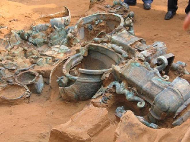Ngôi mộ thời Chiến Quốc bị xâm phạm tới 12 lần nhưng vẫn toàn vẹn: Chủ mộ quá cao tay! - Ảnh 4.