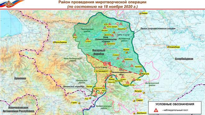 TT Putin lợi dụng cơ hội trời cho, giáng đòn sấm sét khiến Mỹ trở tay không kịp - Chiến sự Azerbaijan-Armenia nhiều diễn biến mới - Ảnh 2.