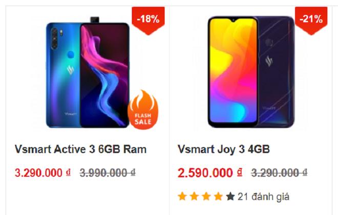 Dàn điện thoại Vsmart giảm giá tới bến, chiếc Aris Pro rẻ hơn tới 2,3 triệu đồng - Ảnh 3.