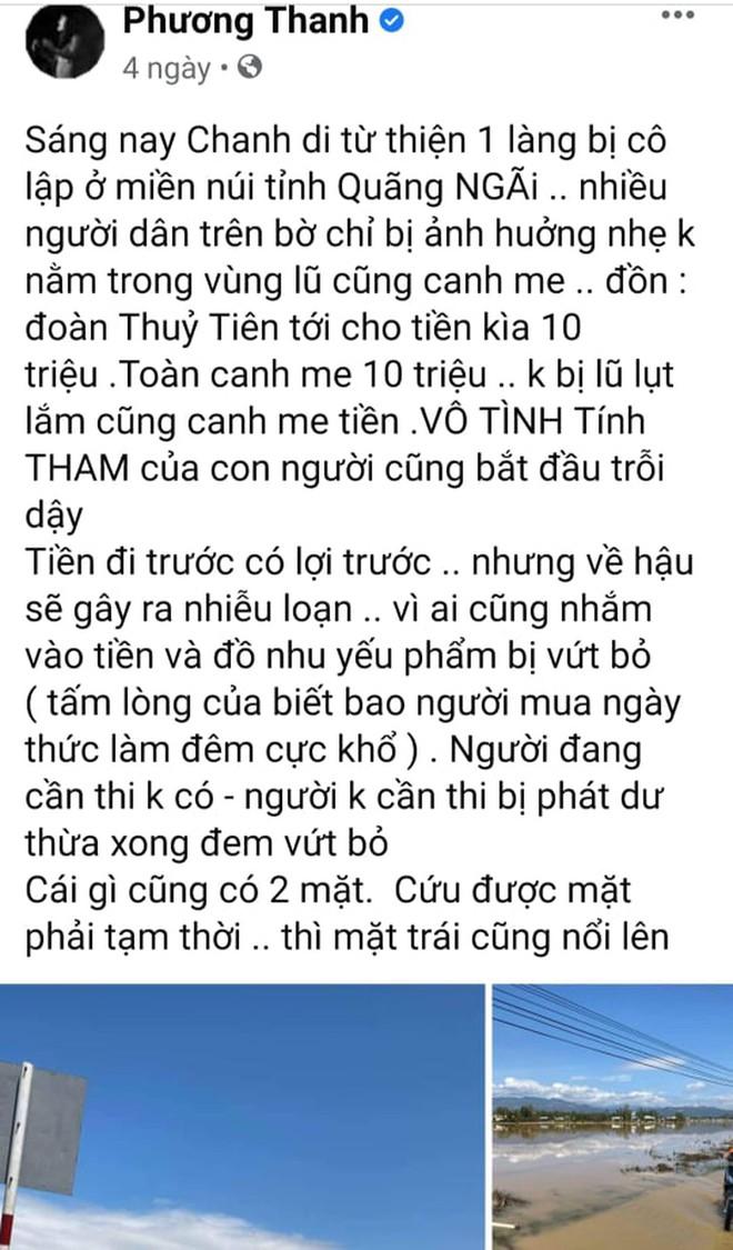 Sở TT&TT TP.HCM làm việc với ca sĩ Phương Thanh liên quan phát ngôn về từ thiện ở Quảng Ngãi - Ảnh 1.