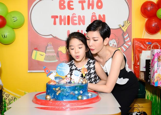 Sinh nhật tuổi lên 7 của con gái Xuân Lan - Ảnh 1.