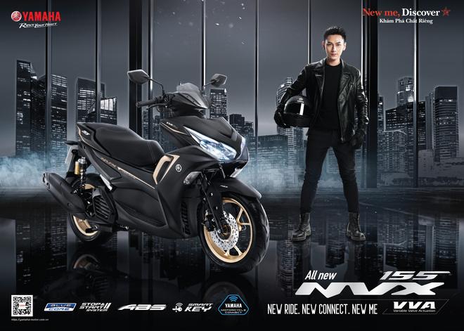 Yamaha tung siêu xe tay ga thể thao, quyết đấu với Honda Air Blade - Ảnh 1.