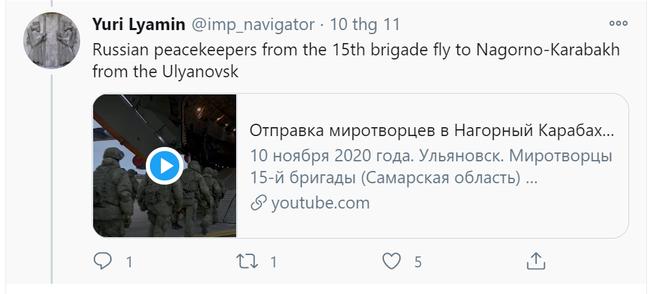 Nghi vấn về vụ Mi-24 bị bắn hạ ẩn sau sự hiện diện thần tốc của 2.000 lính Nga tại Karabakh - Ảnh 3.