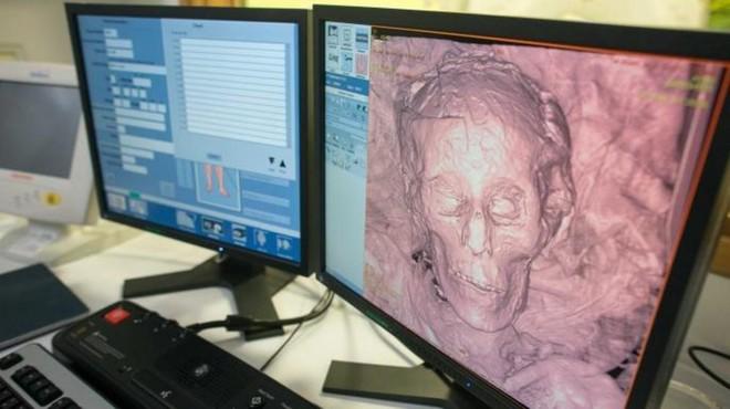 Đưa xác ướp 2.300 tuổi vào máy chụp CT, các chuyên gia chỉ biết chết lặng trước bức hình nhận được - Ảnh 4.
