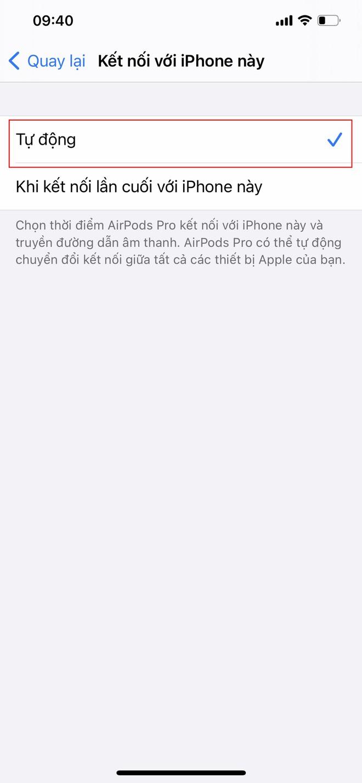 Mẹo sử dụng tính năng tự động chuyển đổi AirPods giữa các thiết bị iOS - Ảnh 6.