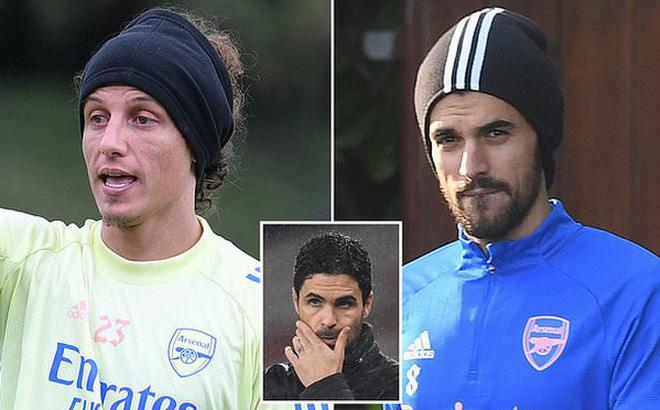 David Luiz đấm Ceballos ngay trong buổi tập của Arsenal
