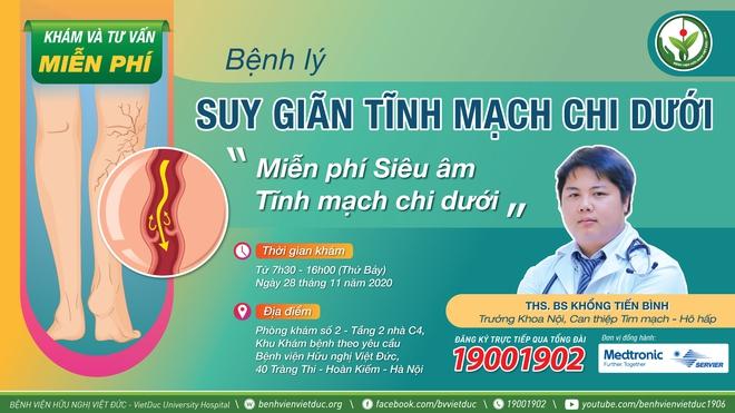 70% nữ giới bị suy giãn tĩnh mạch chân: Chuyên gia Bệnh viện Việt Đức khuyến cáo gì? - Ảnh 7.