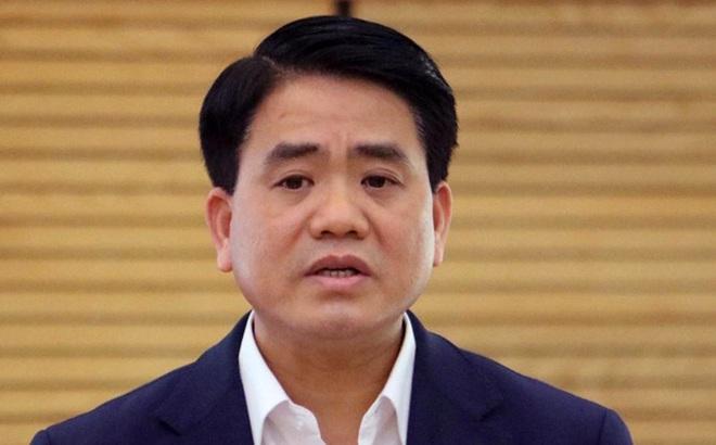 """Kết thúc điều tra, đề nghị truy tố ông Nguyễn Đức Chung và đồng phạm tội """"Chiếm đoạt tài liệu bí mật nhà nước"""""""