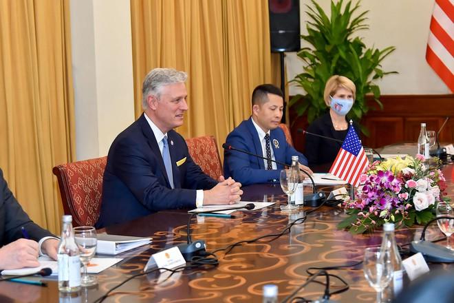 Quan hệ Việt-Mỹ phát triển mạnh mẽ chưa từng có - Ảnh 4.