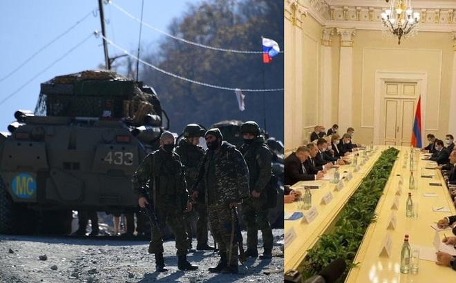 """Tình tiết lạ khi Armenia tiếp đoàn """"2 Sergei"""" của Nga: Sự cố hay hành động có chủ đích?"""