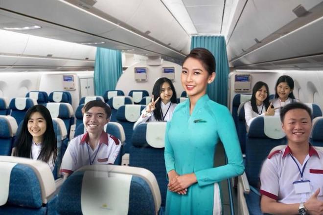Chuyến du lịch đến Paris cực đặc biệt của một lớp học, nhìn ảnh trên máy bay ai cũng bật cười - Ảnh 2.