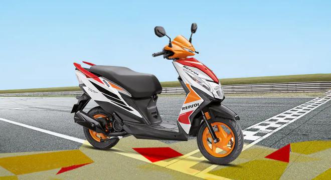Xe ga giá rẻ mới của Honda lộ diện tại Ấn Độ, bán 22 triệu đồng - Ảnh 1.