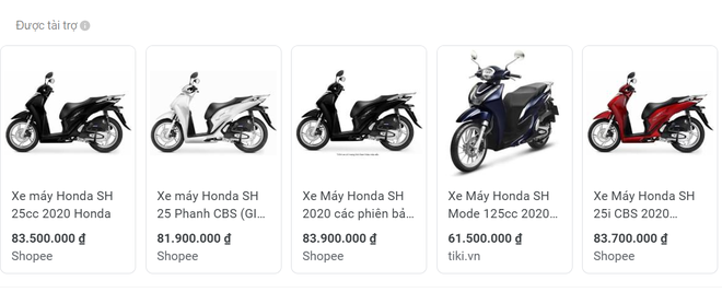 Cận Black Friday, xe máy Honda SH bất ngờ hạ giá gần 14 triệu đồng - Ảnh 1.