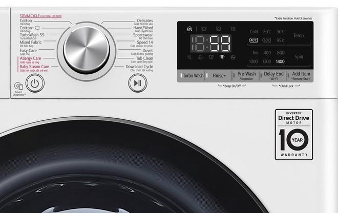 Máy giặt lồng ngang 9-9,5kg đời 2020 bán giá rẻ tới 6 triệu nhân Black Friday - Ảnh 1.