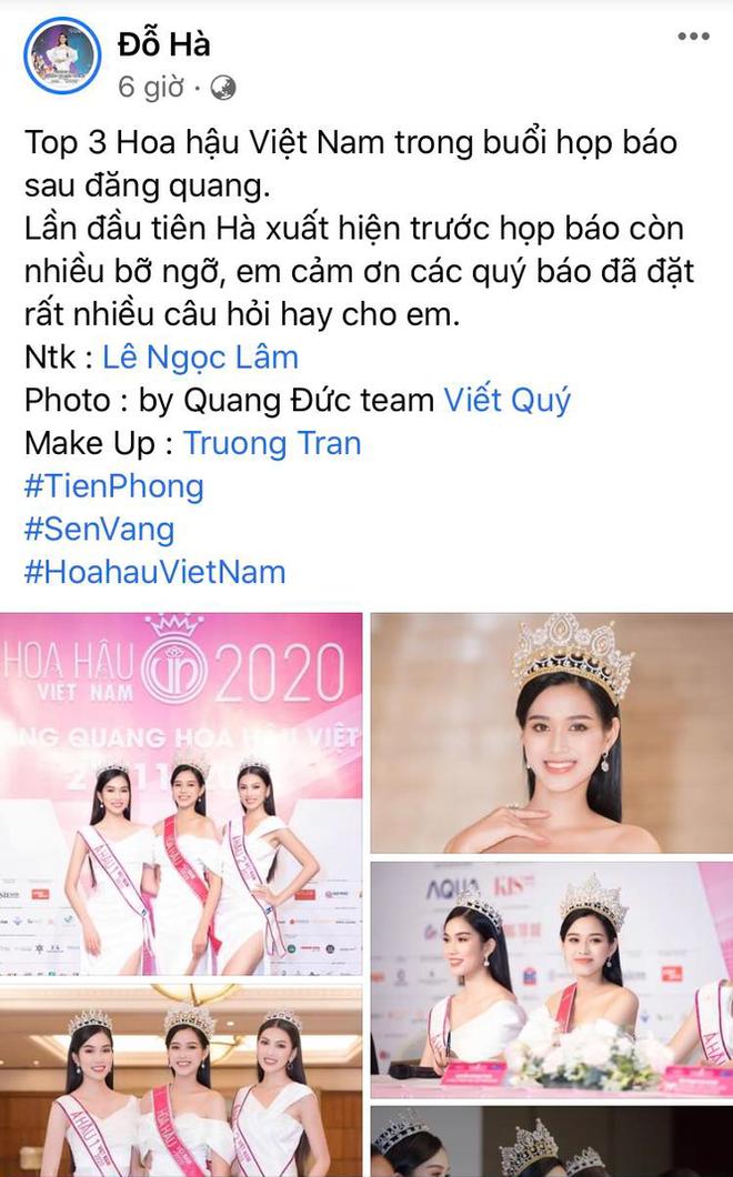 Giữa loạt Facebook giả mạo, đâu là trang cá nhân 'chính chủ' Hoa hậu Đỗ Thị Hà? - ảnh 2