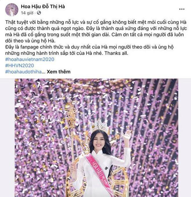 Giữa loạt Facebook giả mạo, đâu là trang cá nhân 'chính chủ' Hoa hậu Đỗ Thị Hà? - ảnh 3