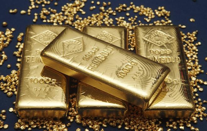 Cuối giờ chiều, giá vàng bắt đầu nhích tăng, chênh lệch giá mua - bán chưa đến 1 triệu - Ảnh 1.
