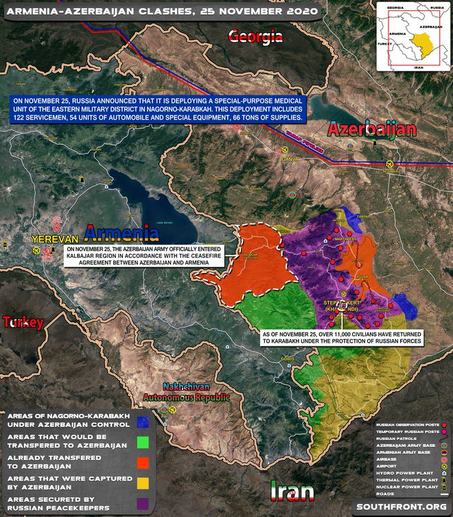 TT Erdogan tiếp tục cầu xin ông Putin về căn cứ Thổ - Armenia đốt phá sạch trước giờ G ở Karabakh - Ảnh 1.