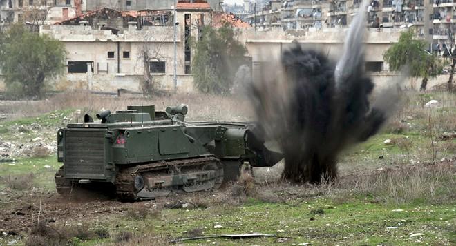 NÓNG: QĐ Nga tung khí tài cực độc từng thử lửa ở Syria vào nhiệm vụ đặc biệt ở Karabakh - Ảnh 3.