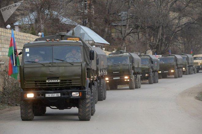 TT Erdogan tiếp tục cầu xin ông Putin về căn cứ Thổ - Armenia đốt phá sạch trước giờ G ở Karabakh - Ảnh 4.