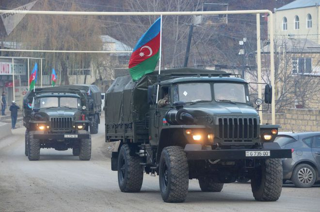 TT Erdogan tiếp tục cầu xin ông Putin về căn cứ Thổ - Armenia đốt phá sạch trước giờ G ở Karabakh - Ảnh 5.