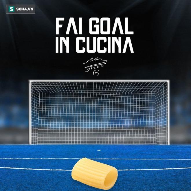 Maradona mới vừa ra mắt thương hiệu mì ống mang tên chính mình trước khi qua đời - Ảnh 4.