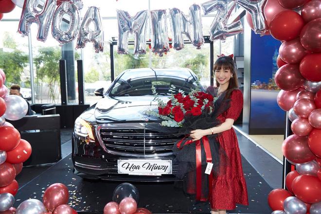 Hoà Minzy hé lộ lý do tự mua ô tô, không cần tiền của chồng đại gia - Ảnh 2.