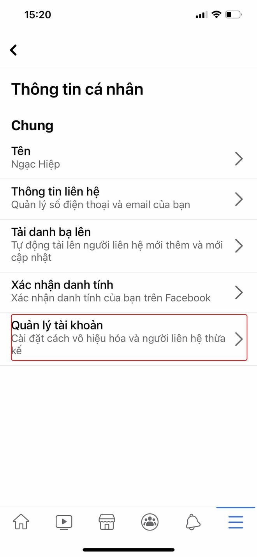 Hướng dẫn bạn khóa Facebook tạm thời bằng điện thoại - Ảnh 2.