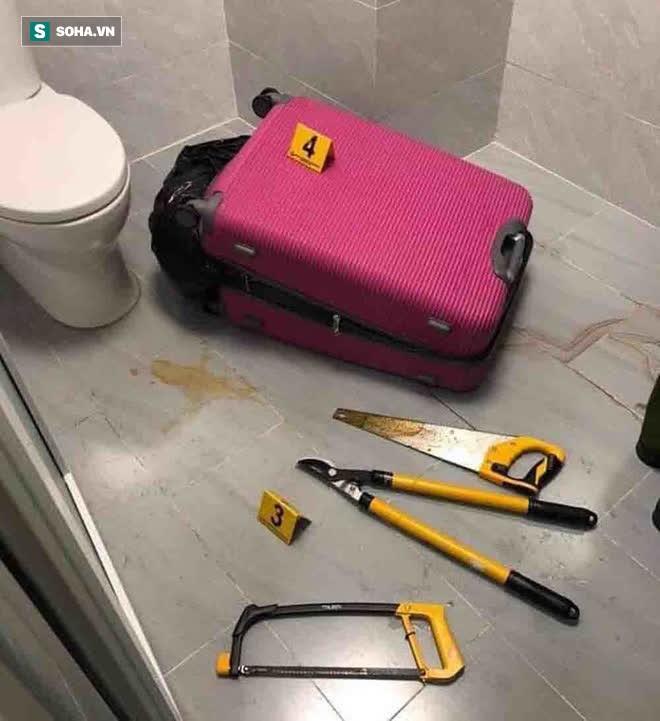 [Ảnh] Công an phong toả nhiều giờ, khám nghiệm hiện trường vụ thi thể người trong vali ở Sài Gòn - Ảnh 10.